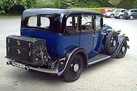 1934' Wolseley 21/60 County Saloon