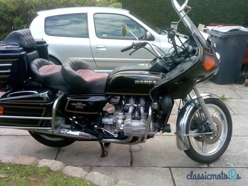 1979 Honda GoldWing in Lancashire, the World
