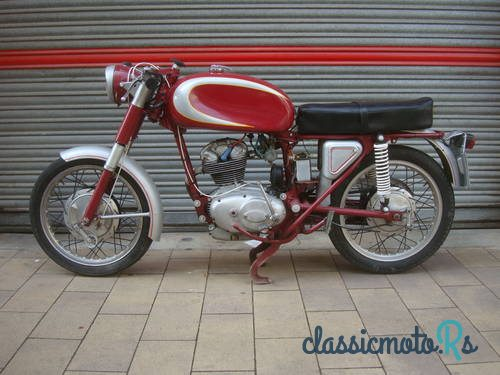 1969 Ducati 160 Sport in Spain, the World