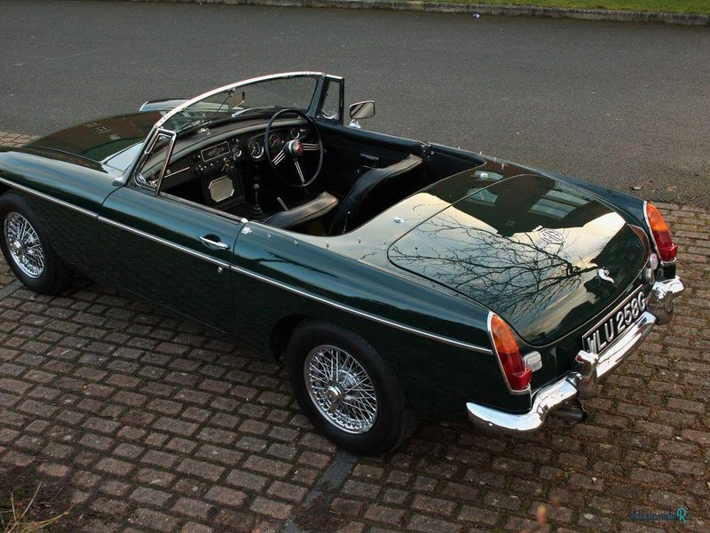 1969 MG Mgb Roadster in Lancashire - 4