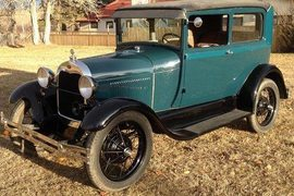 1928' Ford Model A Tudor (2Dr) Saloon