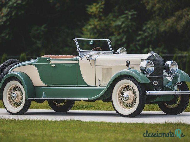 1928 Elcar Model 8-91 Roadster in United States, the World
