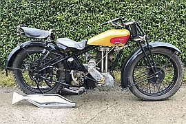 1929' Royal Enfield 505
