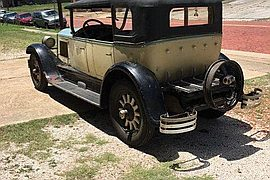 1927' Buick Master Sport Touring