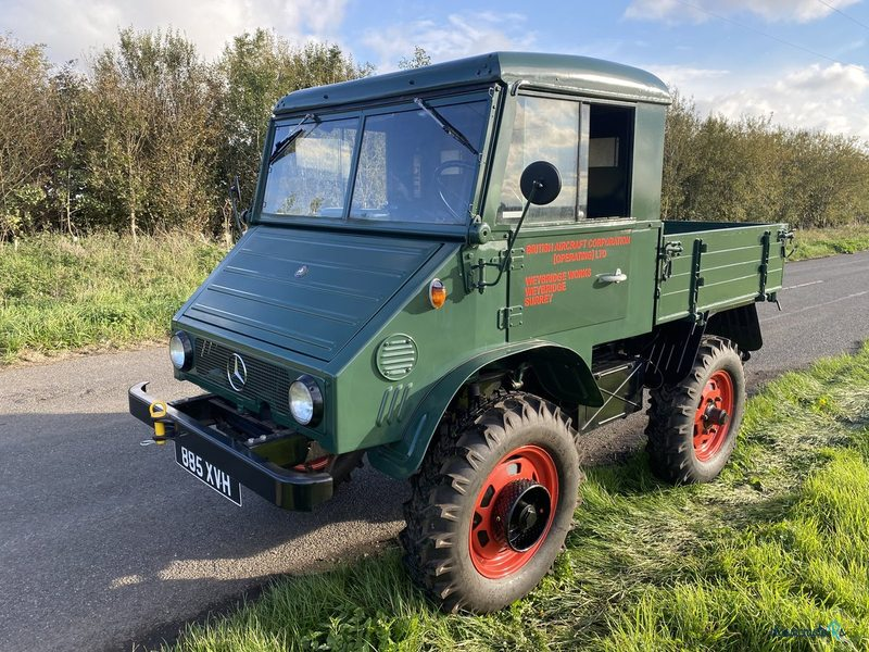 1962 Mercedes-Benz Unimog 411 in Cambridgeshire