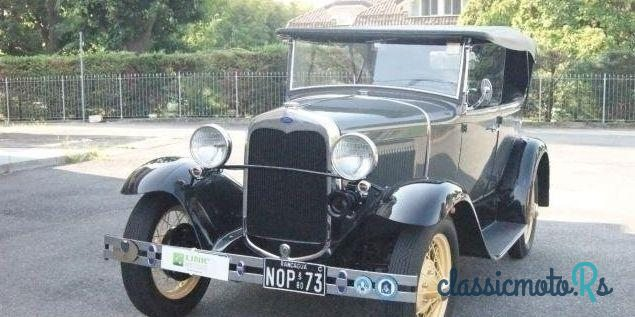 1930 Ford Altro in Italy - 2