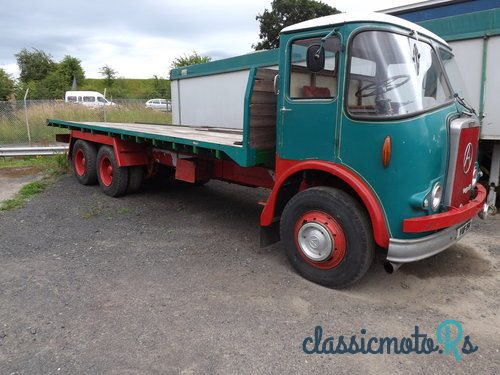1958 Atkinson Mk1 6 wheel Flatbed in Scotland, the World