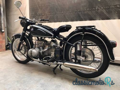 1954 BMW R 51/3 in Spain, the World