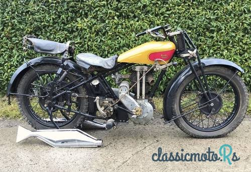 1929 Royal Enfield 505 in Belize