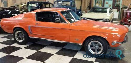 1968' Ford Mustang Fastback Gt for sale - $75,600  United