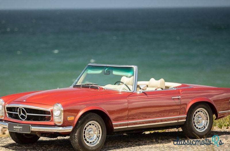 1969 Mercedes-Benz 280 Sl Pagoda in Portugal, the World