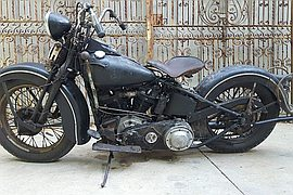 1938' Harley-Davidson never restored