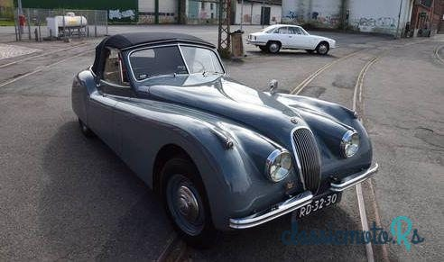 1954 Jaguar Xk120 Xk 120 Drop Head Coupe in Denmark, the World