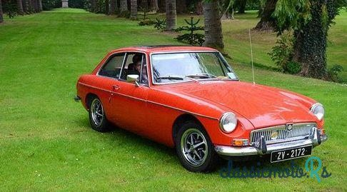 1972 MG Mgb Gt Mgb-Gt in Ireland, the World