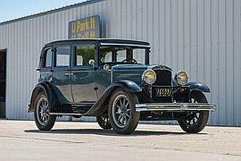 1929' Nash Series 420 Standard Six Sedan