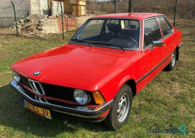 1978 BMW 316 in Poland, the World