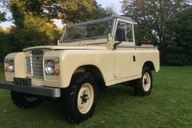1974' Land Rover Series 3 88""