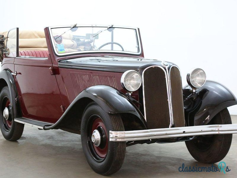 1933 BMW 303 Cabriolet in United States, the World