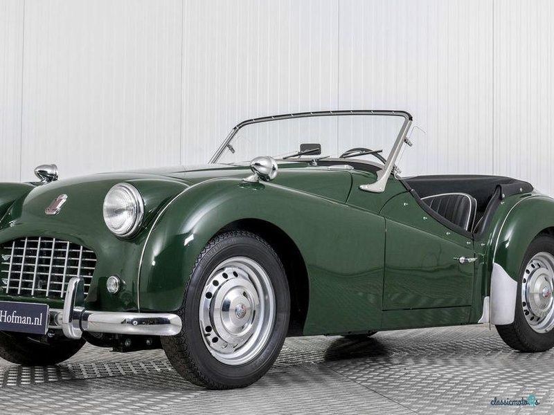 1957 Triumph TR3 in Netherlands
