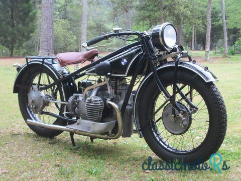 1928 BMW R52 in Arizona, the World