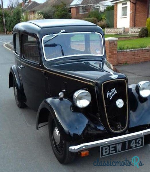 1938 Austin Austin 7 Big Seven in Herefordshire, the World