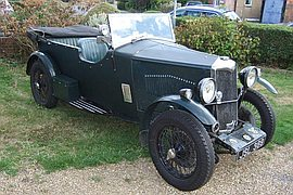 1933' Riley Nine Special Tourer