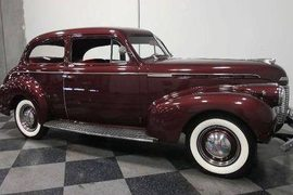 1940' Chevrolet Delux Master Deluxe 85 Coupe