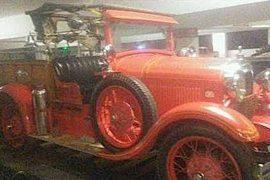 1929' American LaFrance Ford Am Fire Truck