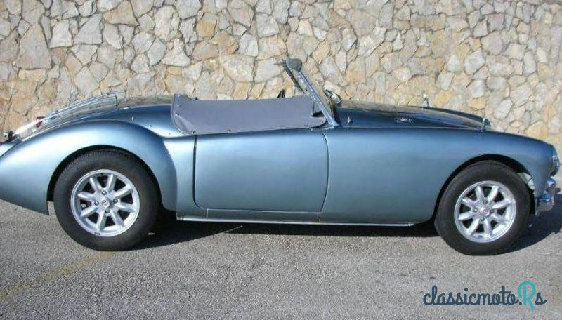 1959 MG MGA 1.5 Mark I (Matching Numbers) in Portugal, the World