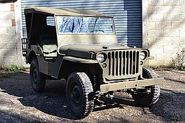1943' Ford Gpw Jeep