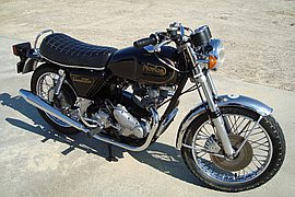 1973' Norton Commando