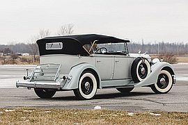 1934' Packard Eight Dual-Cowl Phaeton