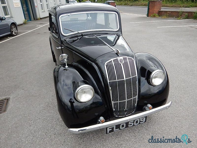 1939 Morris Eight in United Kingdom, the World