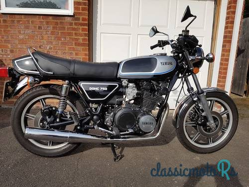 1978 Yamaha XS750 in Surrey, the World