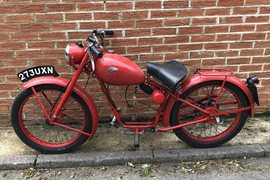 1952' Royal Enfield RE125