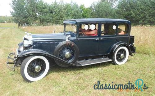 1931 Chrysler Imperial in Poland, the World