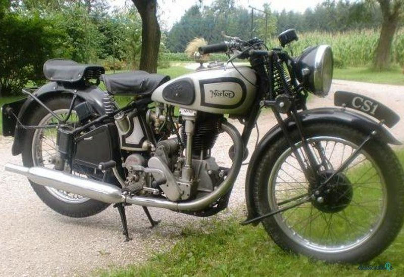 1938 Norton CS1 in Germany