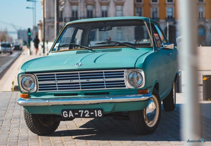 1972 Opel Kadett in Portugal