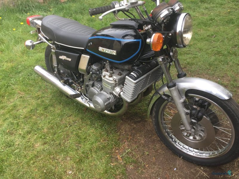 1977 Suzuki GT750B in Worcestershire
