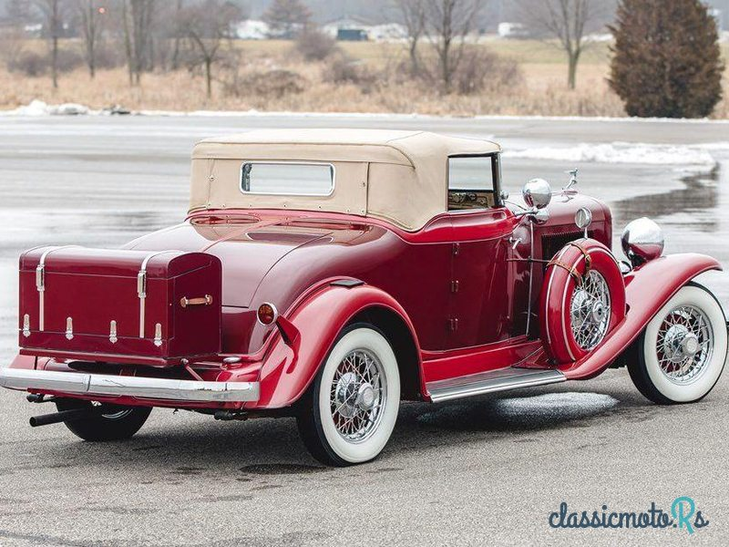 1932 Auburn Twelve Custom Cabriolet in United States, the World