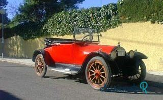 1920 Buick Convertible in Spain, the World
