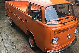 1977' Volkswagen Camper T2 Pick up