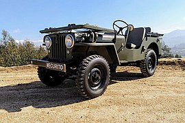 1947' Jeep Willys Cj2A