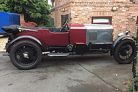 1926' Vauxhall 14-40 30-98 Spec Engine