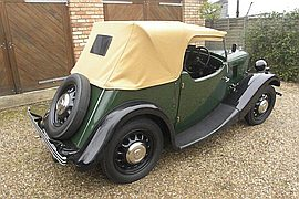 1938' Morris Eight Series 2 Tourer