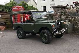 "1955' Land Rover 80"" Series One"