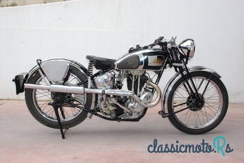 1938 AJS Silver streak 350 in Greece, the World
