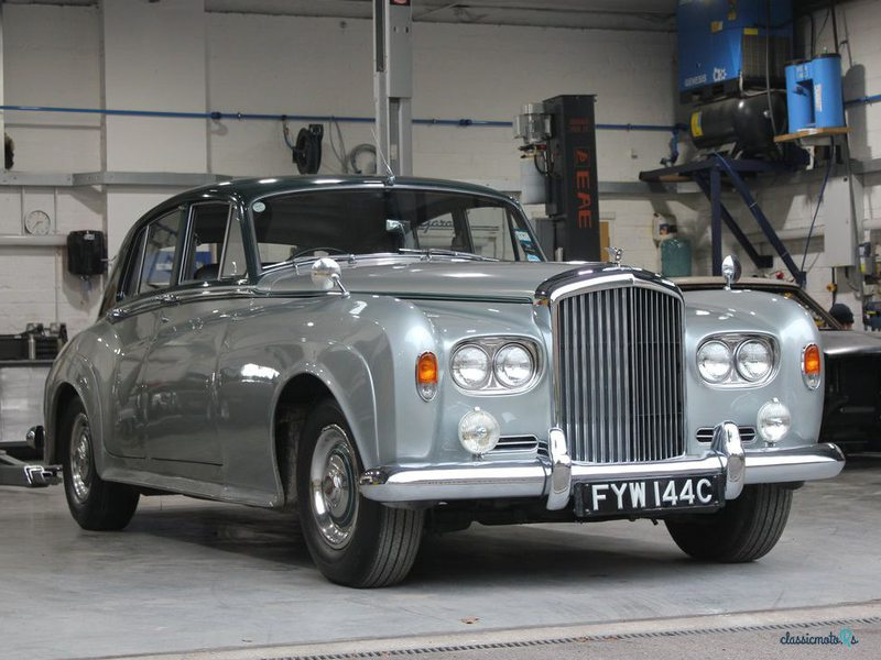 1965 Bentley S3 in Großbritannien