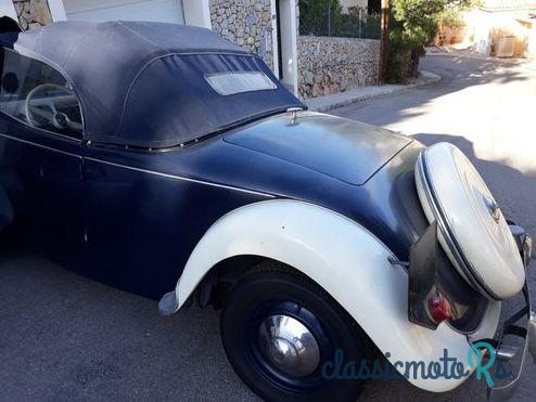 1937 Citroen 11 Cabriolet in Spain, the World