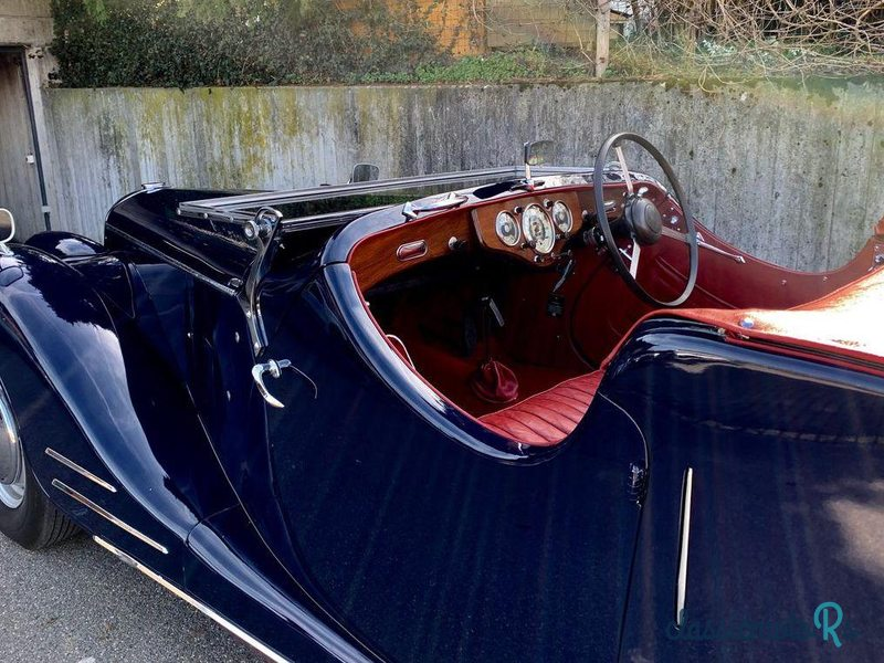 1949 Riley RMC in Switzerland, the World